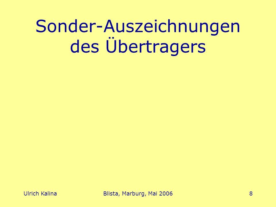 Ulrich KalinaBlista, Marburg, Mai 20069 Informationsquellen sonderpaedagogik.bildung.hessen.de braille.bildung.hessen.de www.lbzb.de/LatexDoku/latexdoku.html www.schloss-schule- ilvesheim/Software/demo/demo.html