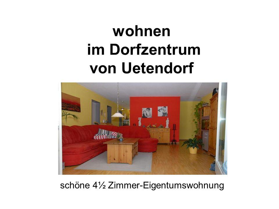wohnen im Dorfzentrum von Uetendorf schöne 4½ Zimmer-Eigentumswohnung