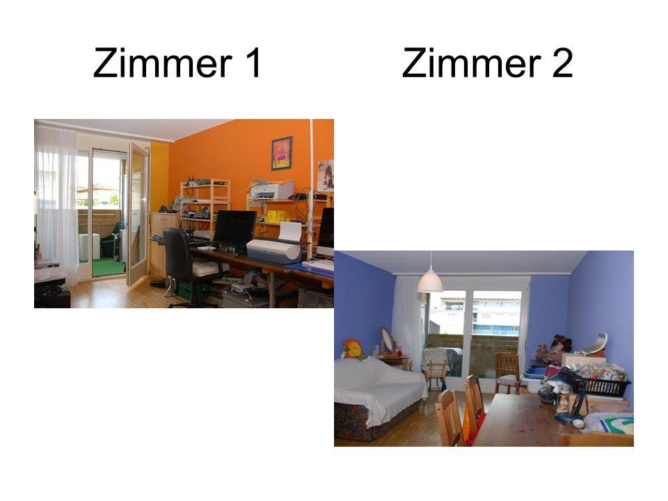 Zimmer 1 Zimmer 2