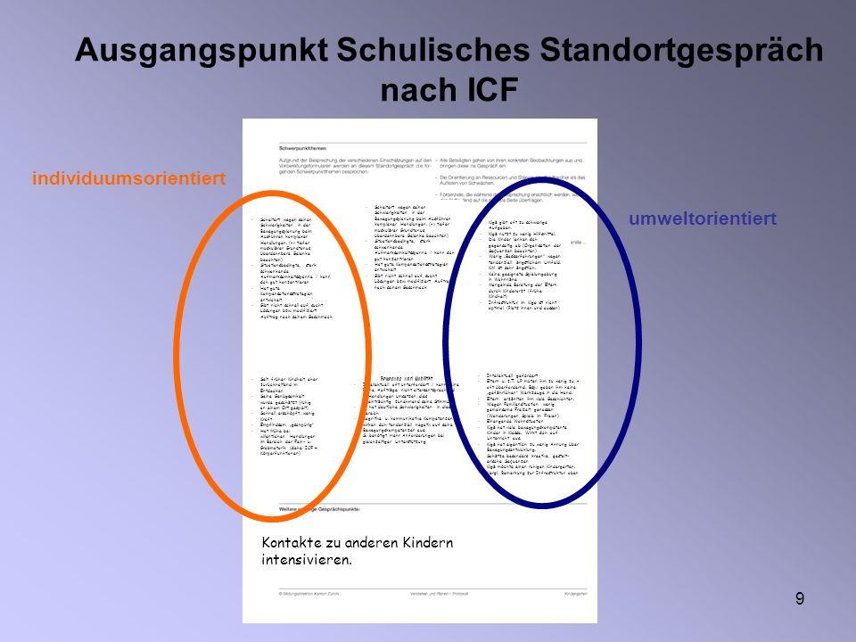 10 Prozess versus Status: Zwei Qualitäten von Informationen für Berichte Bericht / Zeugnis ISD / Berichte aus ISD Statusinforma- tionen / Summative Einschätzung Prozessinforma- tionen / Formative Einschätzung Wo steht das Kind.