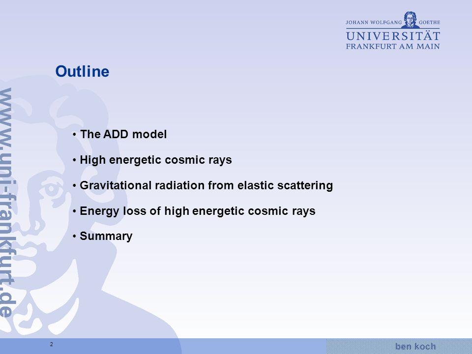 Hier wird Wissen Wirklichkeit 23 Relative energy loss Add energy loss to air shower simulation code SENECA*: *