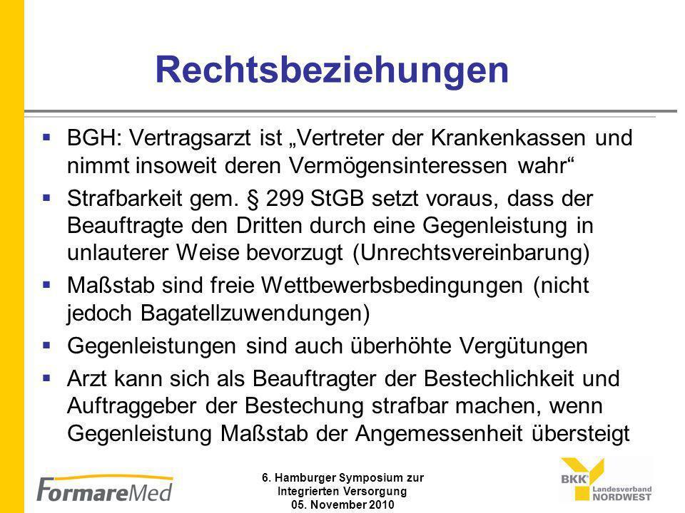 6. Hamburger Symposium zur Integrierten Versorgung 05. November 2010 Versorgungsablauf (a)