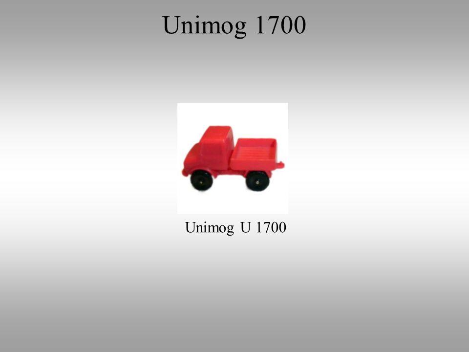Unimog U 1700 Unimog 1700