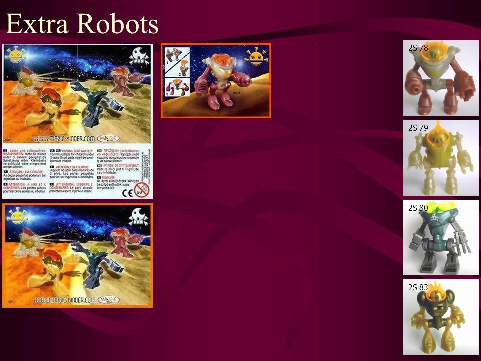 Extra Robots 2S 78 2S 79 2S 80 2S 83