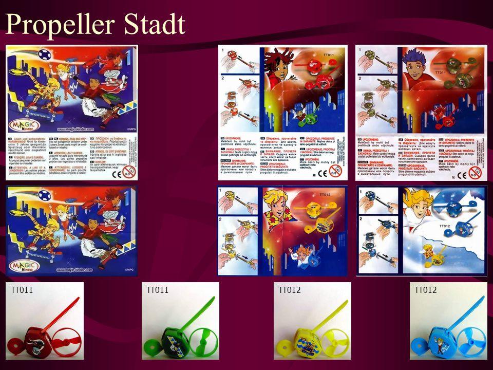 Propeller Stadt TT011 TT012
