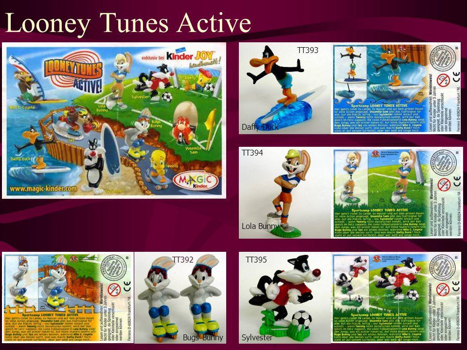 Looney Tunes Active TT392 Bugs Bunny TT393 Sylvester TT394 Daffy Duck Lola Bunny TT395