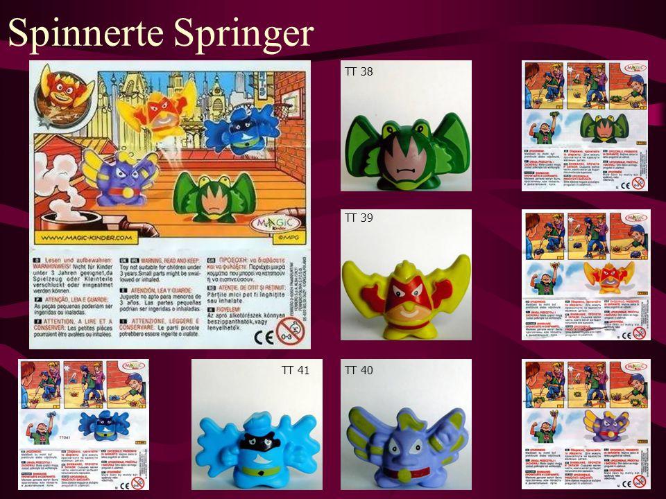 Spinnerte Springer TT 38 TT 39 TT 40TT 41