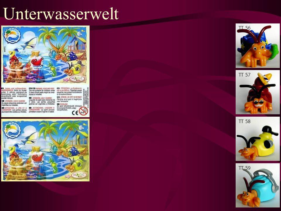 Unterwasserwelt TT 56 TT 57 TT 58 TT 59