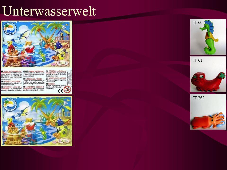 Unterwasserwelt TT 60 TT 61 TT 262