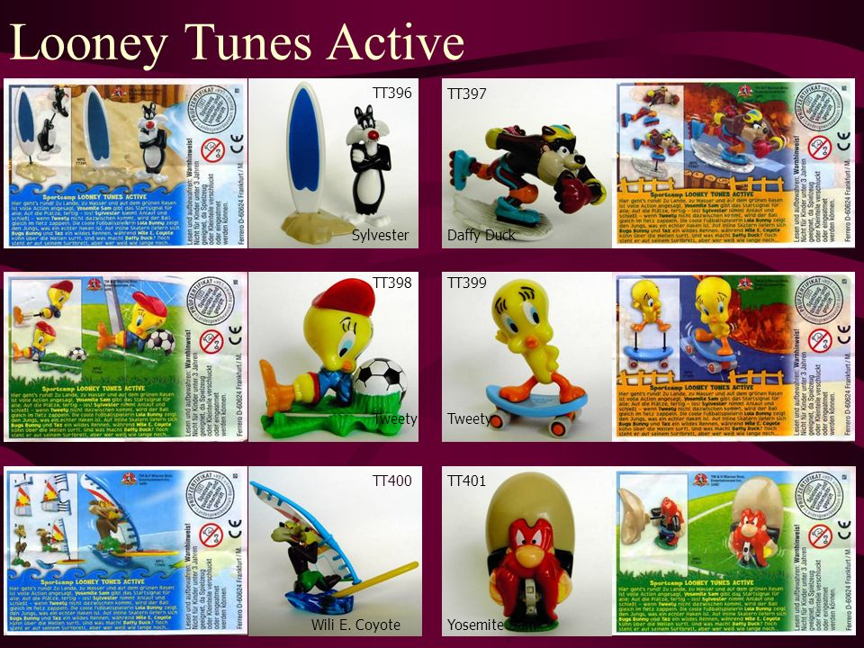 Looney Tunes Active TT400 Wili E.