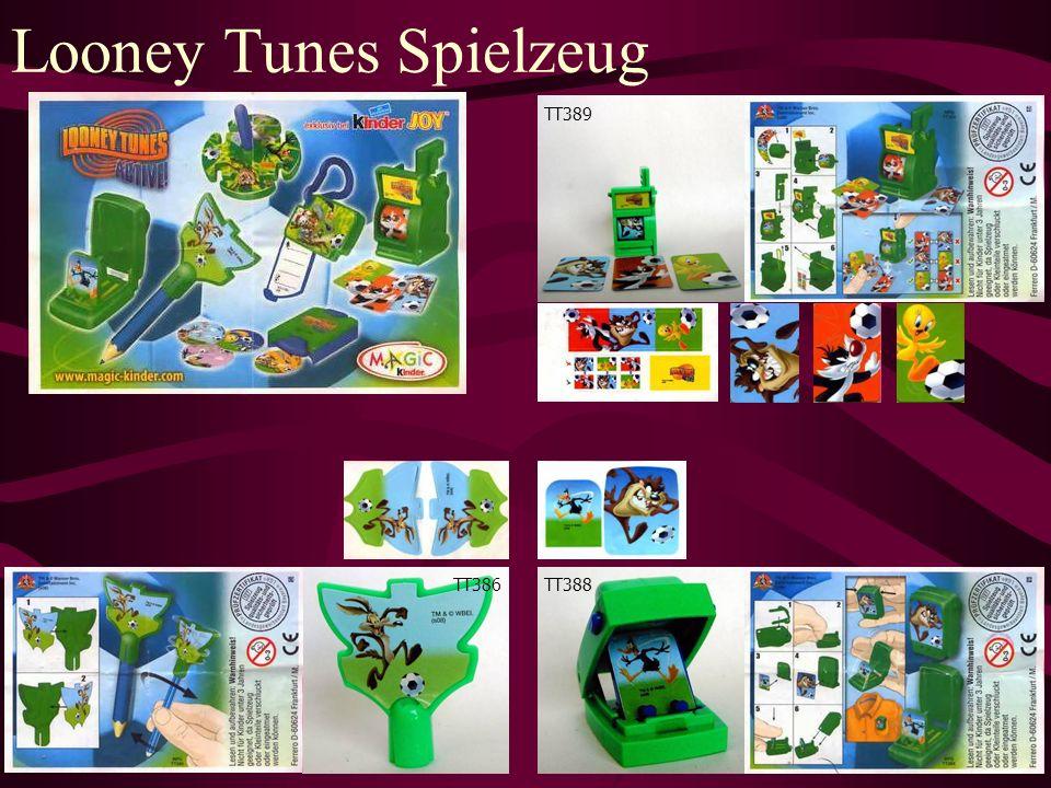 Looney Tunes Spielzeug TT386 TT389 TT388