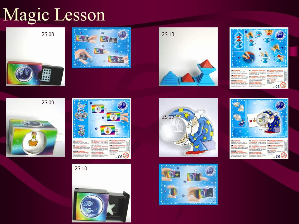 Magic Lesson 2S 08 2S 09 2S 10 2S 13 2S 15