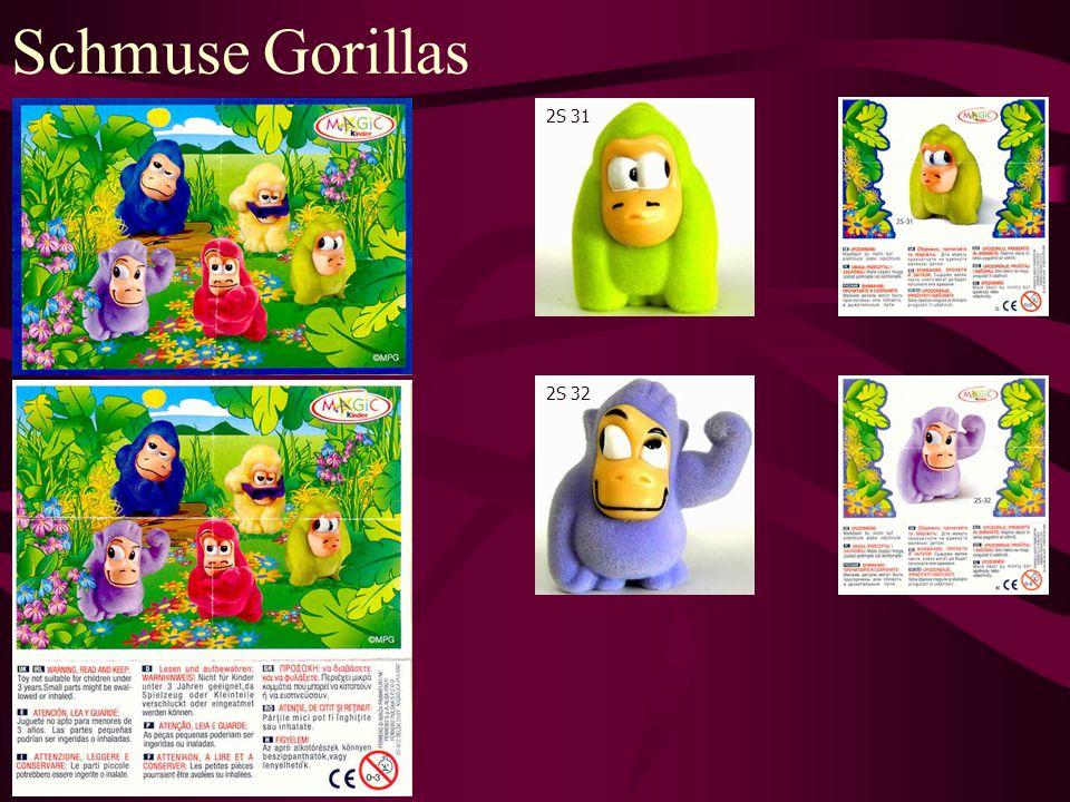 Schmuse Gorillas 2S 31 2S 32
