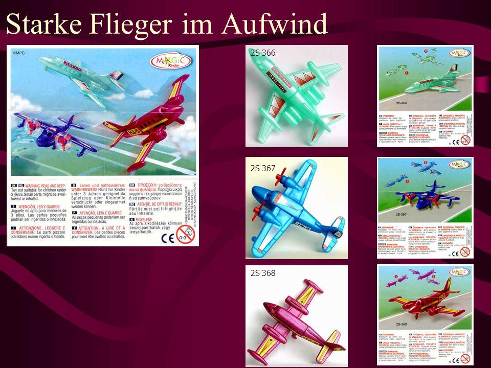 Starke Flieger im Aufwind 2S 366 2S 367 2S 368