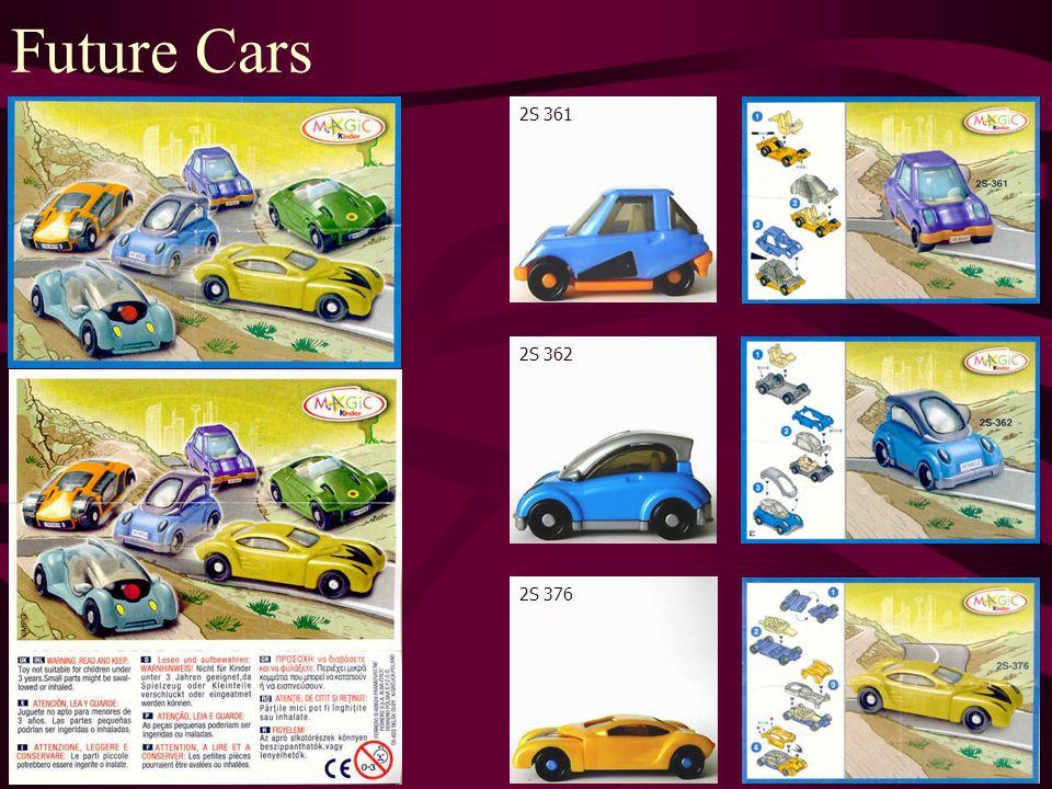 Future Cars 2S 363 2S 364