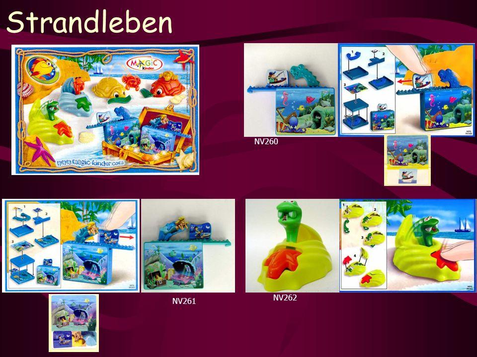 Strandleben NV260 NV261 NV262