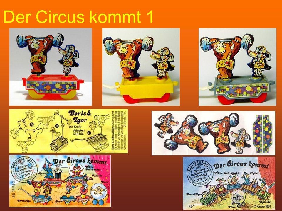Der Circus kommt 1