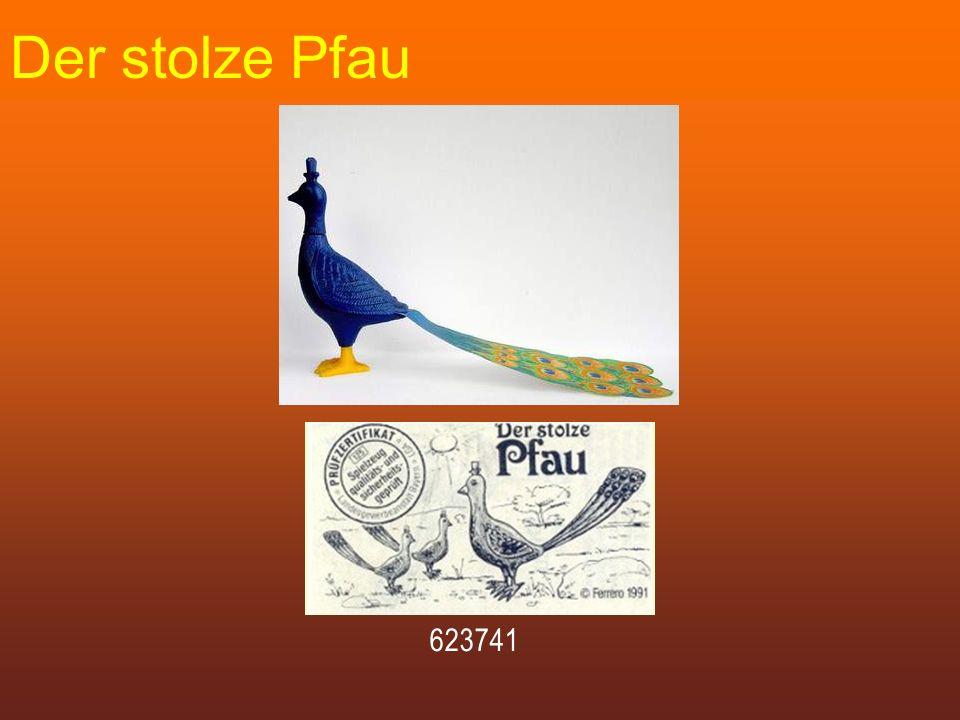 Der stolze Pfau 623741