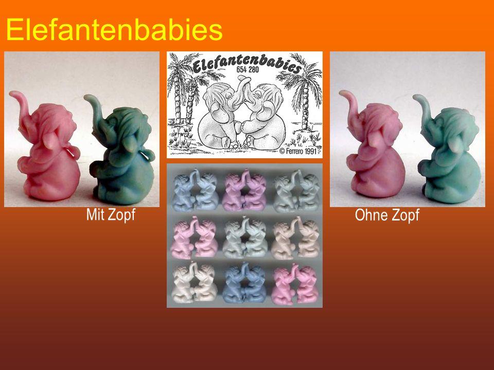 Elefantenbabies Mit Zopf Ohne Zopf