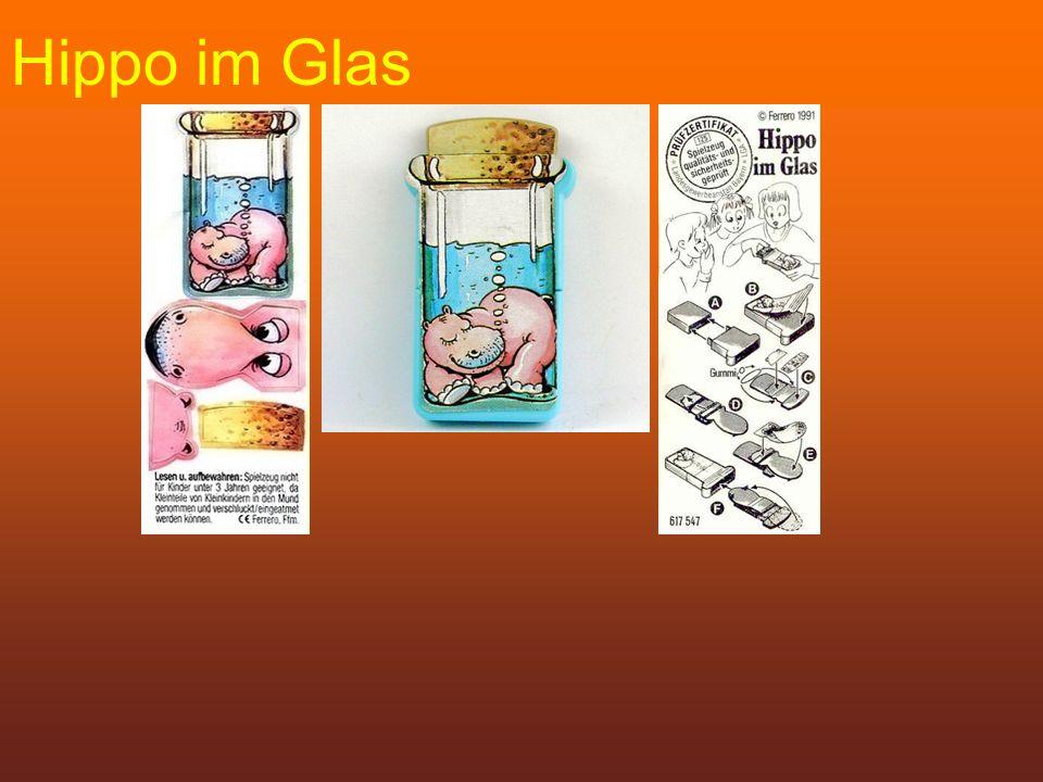 Hippo im Glas