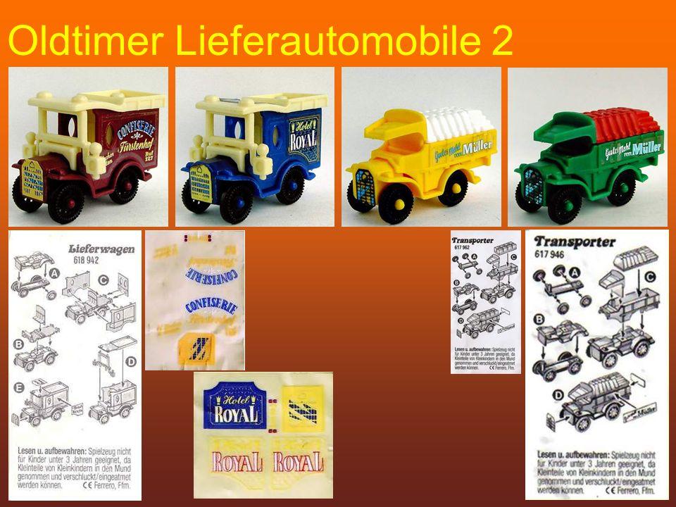 Oldtimer Lieferautomobile 2