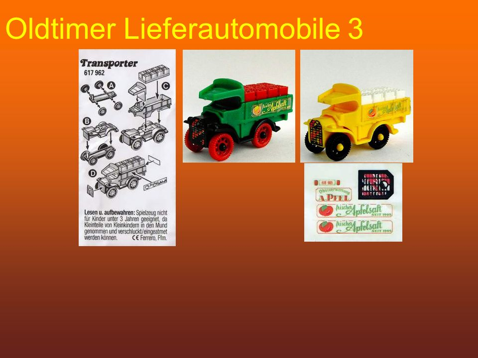 Oldtimer Lieferautomobile 3