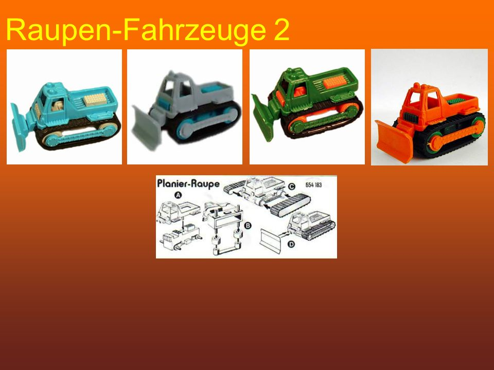 Raupen-Fahrzeuge 2