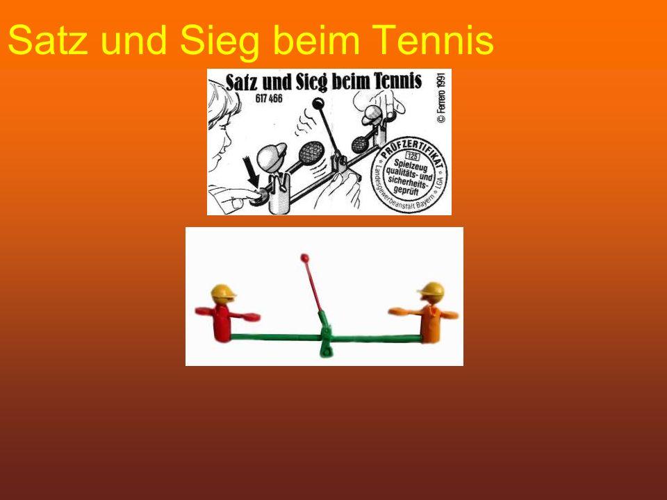 Satz und Sieg beim Tennis