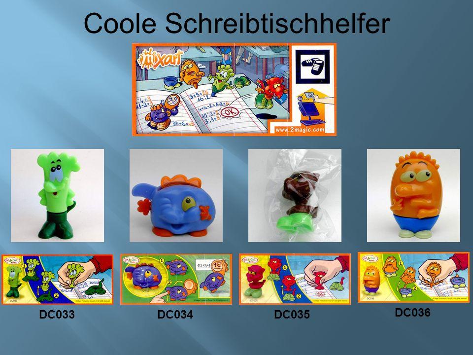 Coole Schreibtischhelfer DC033DC034DC035 DC036