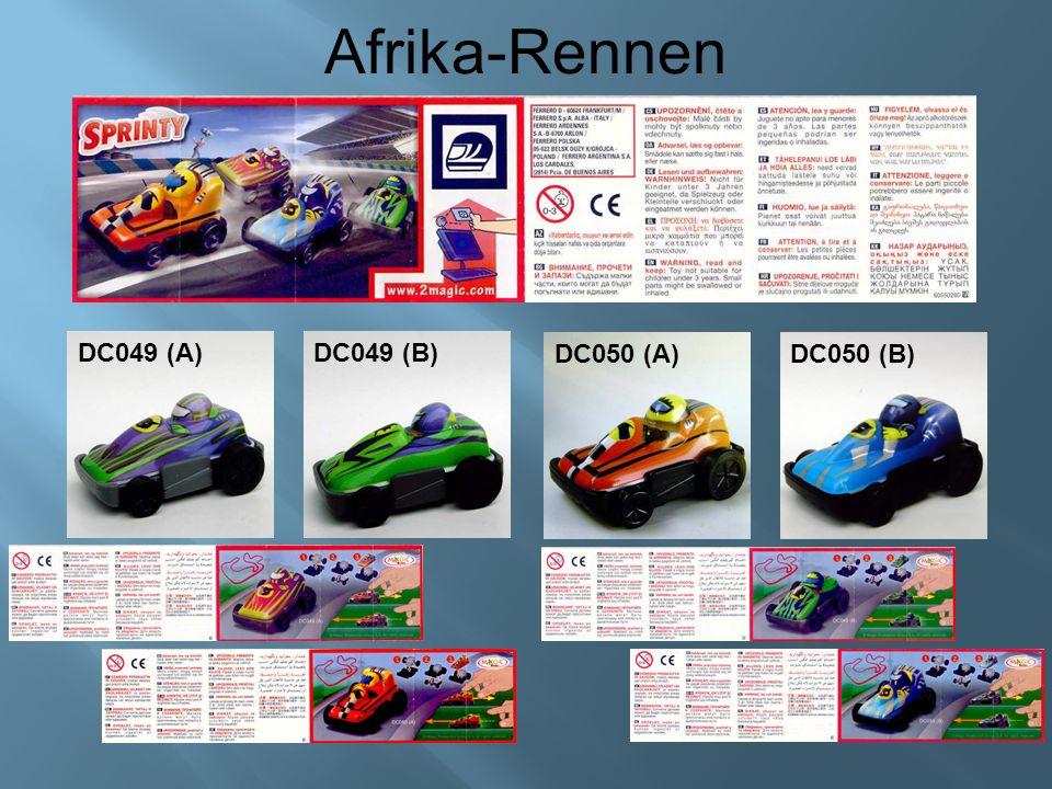 Afrika-Rennen DC049 (A)DC049 (B) DC050 (A)DC050 (B)