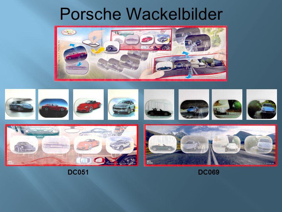 Porsche Wackelbilder DC051DC069