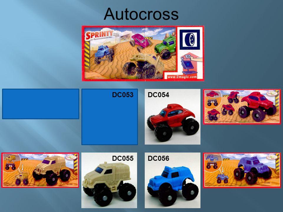 Autocross DC054 DC055DC056 DC053