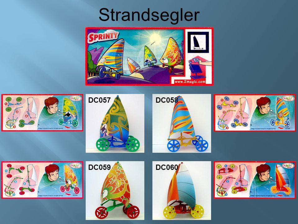 Strandsegler DC057DC058 DC059 DC060