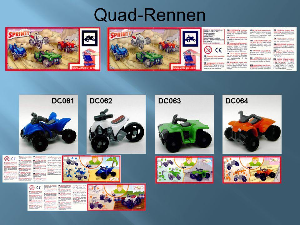 Quad-Rennen DC061DC062DC063 DC064