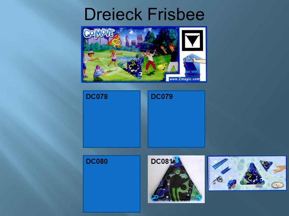 Dreieck Frisbee DC078DC079 DC080 DC081