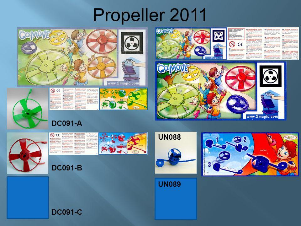 DC091-A Propeller 2011 DC091-B DC091-C UN088 UN089
