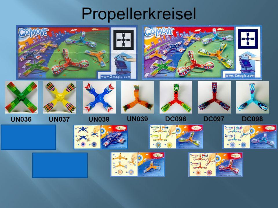 Propellerkreisel UN036UN037UN038 UN039DC096DC097DC098