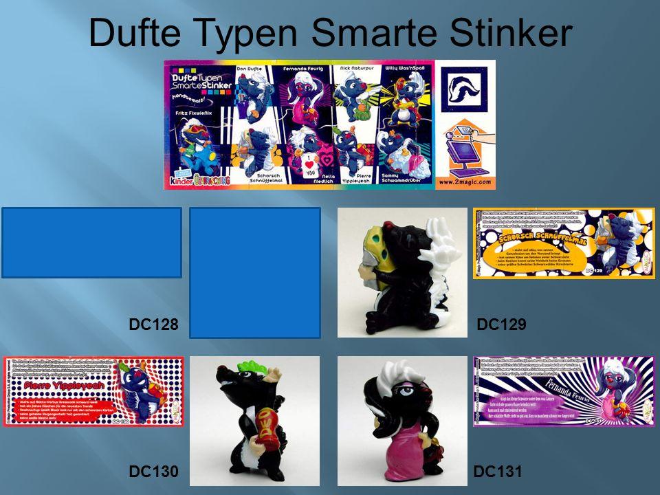 Dufte Typen Smarte Stinker DC129DC128 DC130 DC131