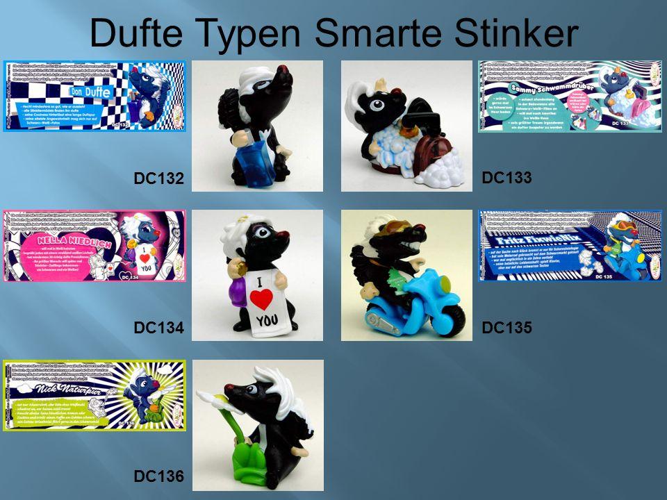 Dufte Typen Smarte Stinker DC135DC134 DC136 DC132 DC133