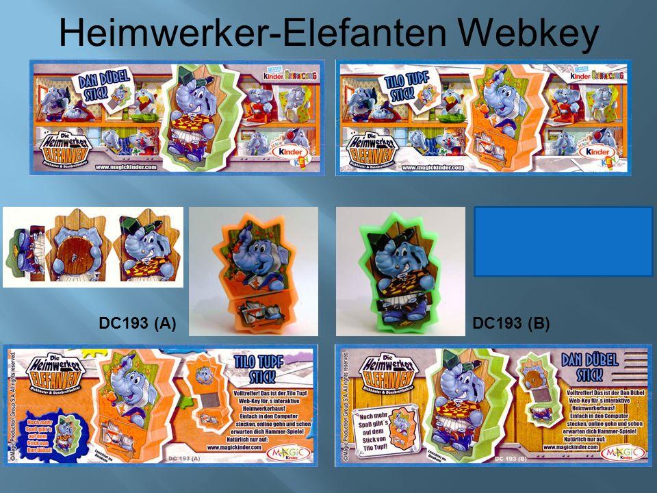 Heimwerker-Elefanten Webkey DC193 (A)DC193 (B)