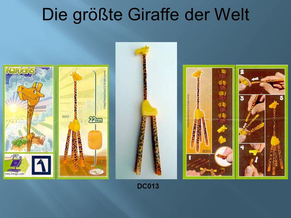 Die größte Giraffe der Welt DC013