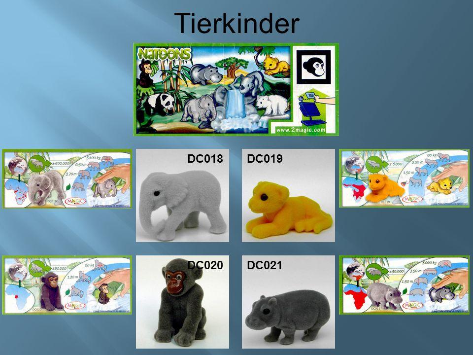 Tierkinder DC018DC019 DC020DC021
