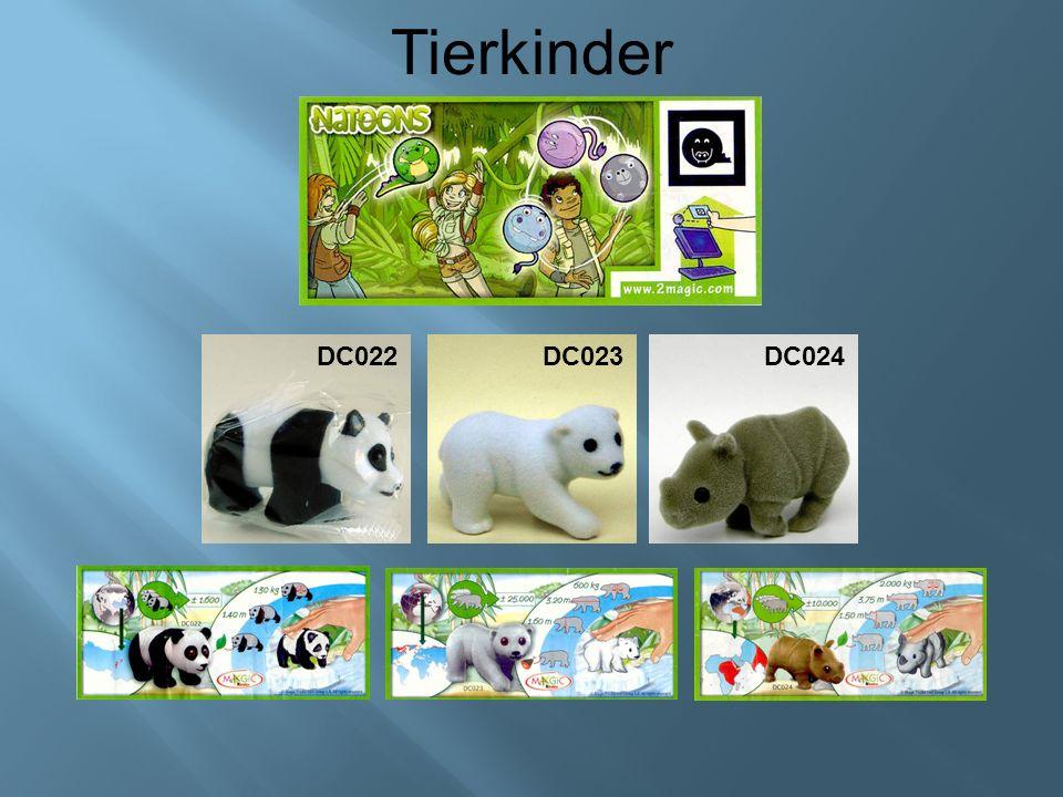 Tierkinder DC022DC023 DC024