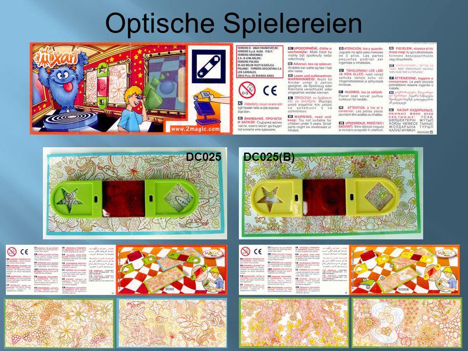 Optische Spielereien DC026 DC027