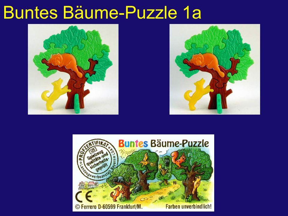 Buntes Bäume-Puzzle 1a
