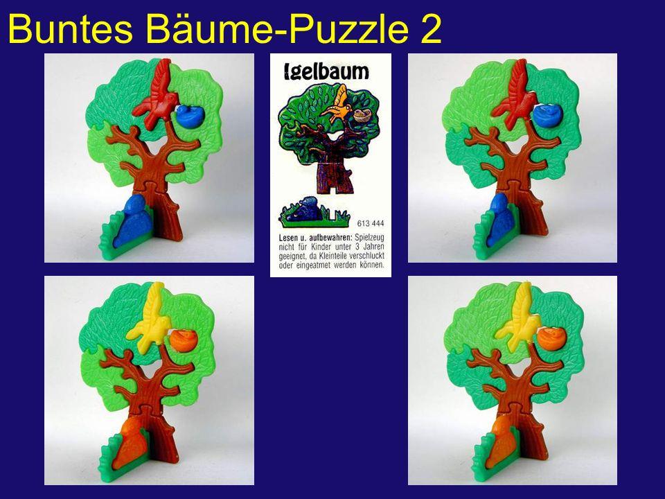 Buntes Bäume-Puzzle 2