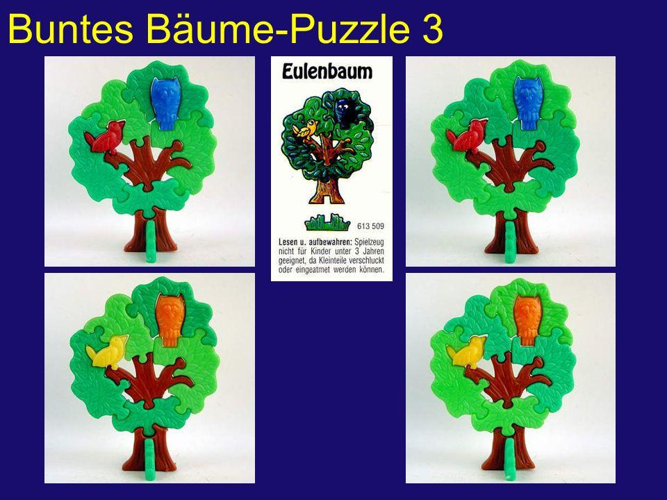 Buntes Bäume-Puzzle 3