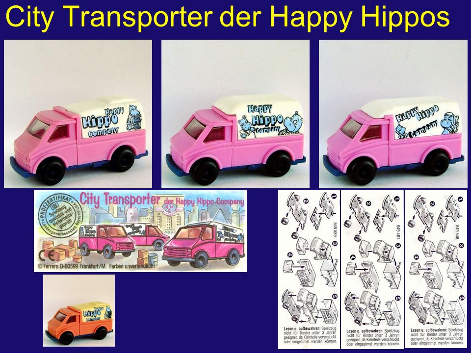 City Transporter der Happy Hippos