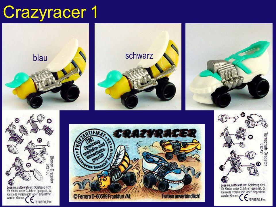 Crazyracer 1 blau schwarz