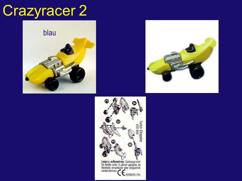 Crazyracer 2 blau
